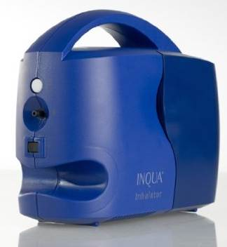 INQUA Inhalator in Transportstellung