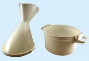 Heisswasser Inhalator zerlegt